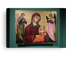 0105802 - Mother Mary & Son Canvas Print