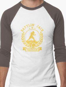 battlin jack murdock daredevil Men's Baseball ¾ T-Shirt
