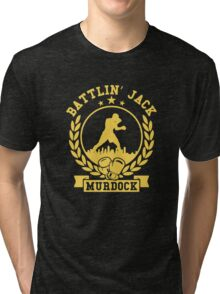 battlin jack murdock daredevil Tri-blend T-Shirt