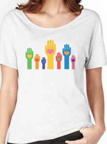 no to racism Women's Relaxed Fit T-Shirt