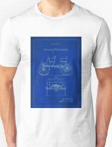 TIR-Car - Blue Unisex T-Shirt