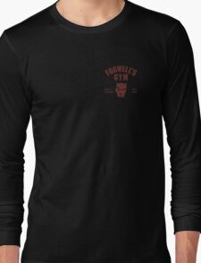 Fogwell's Gym (black/small) Long Sleeve T-Shirt