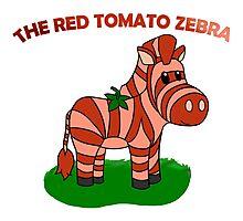 The Red Tomato Zebra Photographic Print