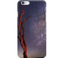 Red Tree In the Night iPhone Case/Skin