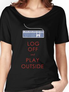 play outside Women's Relaxed Fit T-Shirt