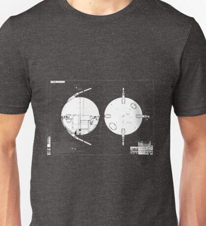 Sputnik Diagram. Unisex T-Shirt
