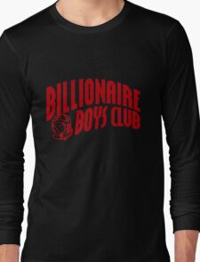 red billionaire boys club Long Sleeve T-Shirt