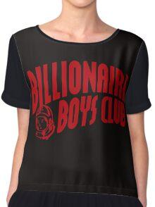 red billionaire boys club Chiffon Top