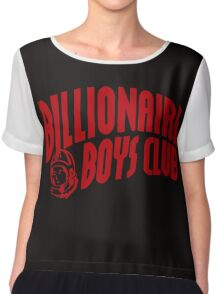red billionaire boys club Chiffon Top