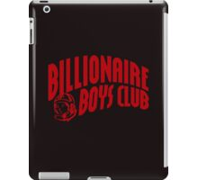 red billionaire boys club iPad Case/Skin