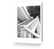 Staircase of the marine guards - Cartagena, Spain Greeting Card