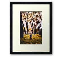 I Love the Passing of Time Framed Print