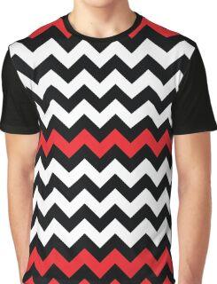 Twin Peaks Chevron Graphic T-Shirt
