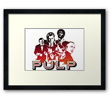 Pulp Illustration LZ Framed Print