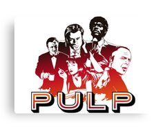 Pulp Illustration LZ Canvas Print