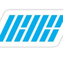 Ikon logo blue Sticker