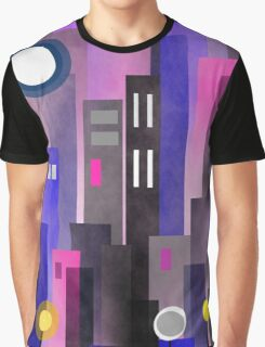 Fun In The City Graphic T-Shirt