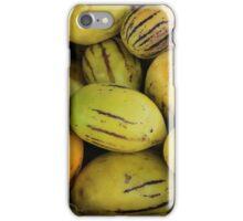 Yellow Exotic Fruit iPhone Case/Skin