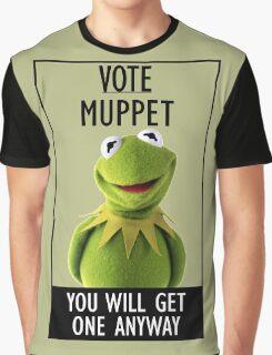 Vote Muppet Graphic T-Shirt
