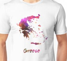 Greece in watercolor Unisex T-Shirt