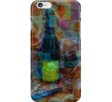 Wine and glass iPhone Case/Skin