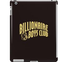 billionaire boys club gold iPad Case/Skin