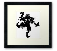 The Skull Kid Framed Print