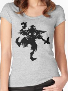 The Skull Kid Women's Fitted Scoop T-Shirt