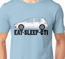 Eat Sleep GTI VW Golf Unisex T-Shirt