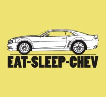 Eat Sleep Chev Kids Tee