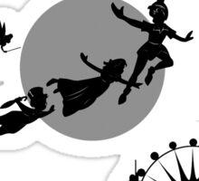 Second Star Peter Pan Sticker