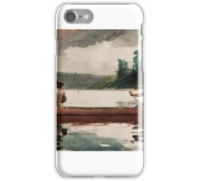 Winslow Homer - Duck hunting iPhone Case/Skin