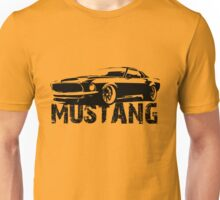 Ford Mustang - Front with words Unisex T-Shirt