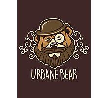 Urbane Bear Photographic Print