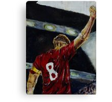 Steven Gerrard Canvas Print