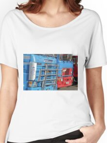 Classic Commercial Lorries  Women's Relaxed Fit T-Shirt