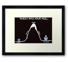when i am young Framed Print
