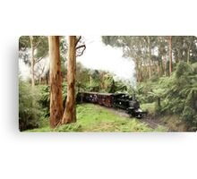 Through The Ferns - Menzies Creek -0126 Metal Print