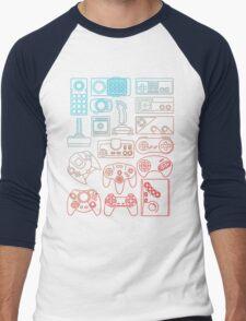 Control Freak Men's Baseball ¾ T-Shirt