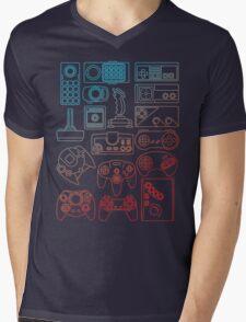 Control Freak Mens V-Neck T-Shirt