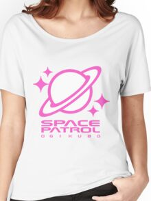 Space Patrol Ogikubo - Pink Women's Relaxed Fit T-Shirt