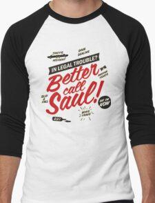 Better Call Saul! Men's Baseball ¾ T-Shirt