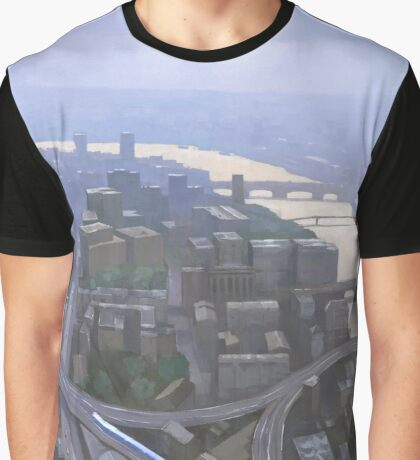 London, Looking West from the Shard Graphic T-Shirt