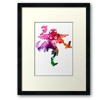 Skull Kid (Funko Version) Framed Print