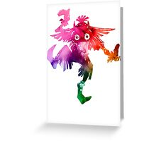 Skull Kid (Funko Version) Greeting Card