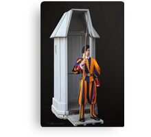...Rome...protecting the Pope... Canvas Print