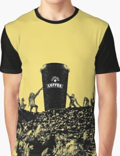 DAWN OF COFFEE Graphic T-Shirt