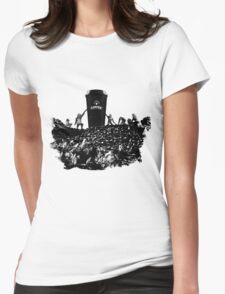 DAWN OF COFFEE Womens Fitted T-Shirt