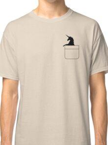 Pocket Unicorn Classic T-Shirt