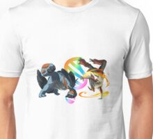 MegaEvolution (Swampert vs Blaziken)-Pokemon Unisex T-Shirt